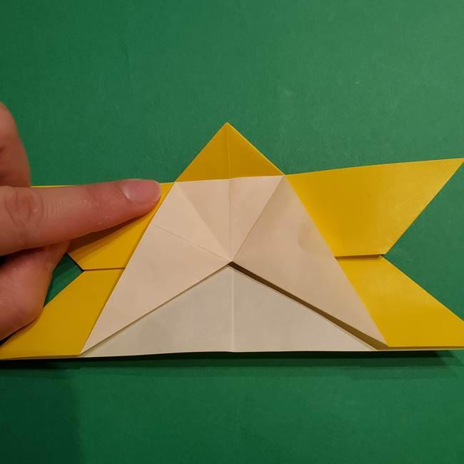 ゼラオラの折り紙*作り方折り方(17)