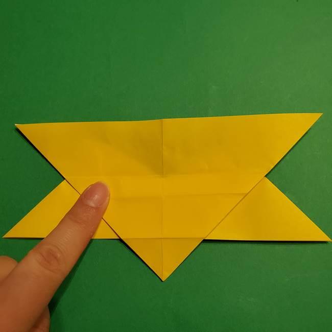 ゼラオラの折り紙*作り方折り方(18)