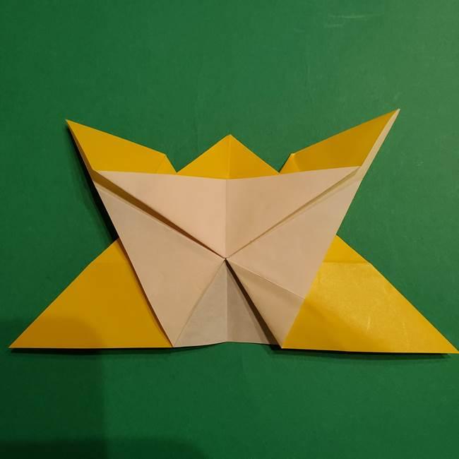 ゼラオラの折り紙*作り方折り方(25)