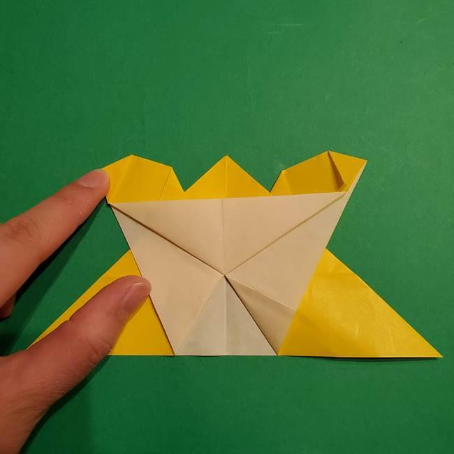 ゼラオラの折り紙*作り方折り方(26)