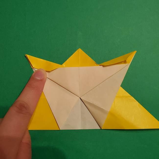 ゼラオラの折り紙*作り方折り方(27)
