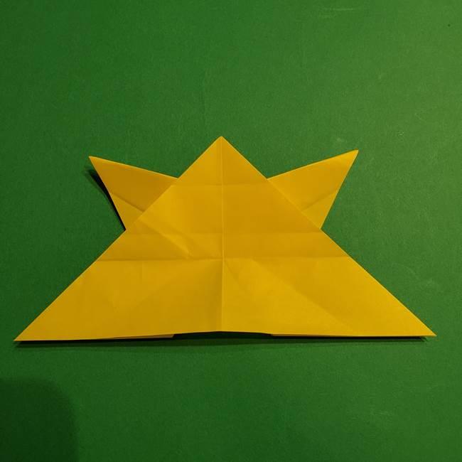 ゼラオラの折り紙*作り方折り方(28)