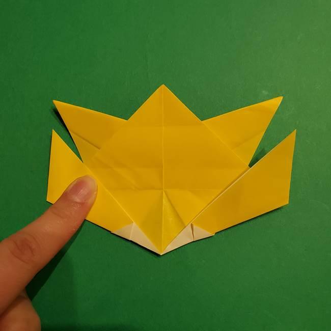 ゼラオラの折り紙*作り方折り方(29)