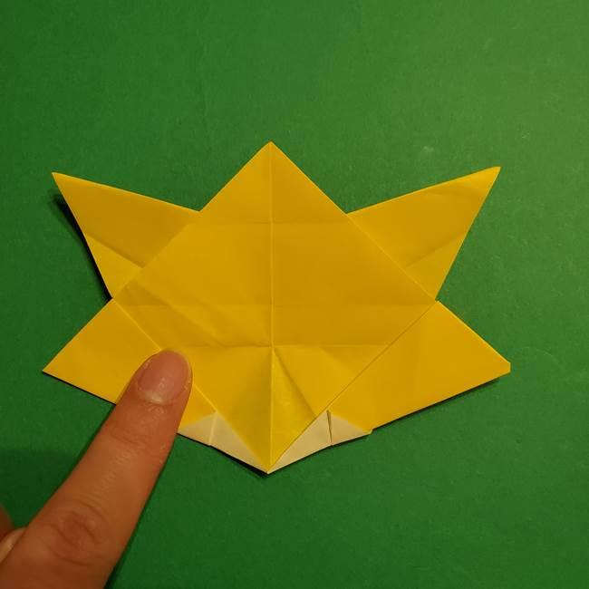 ゼラオラの折り紙*作り方折り方(30)
