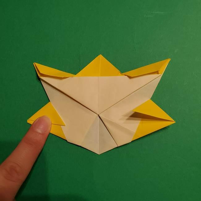 ゼラオラの折り紙*作り方折り方(31)