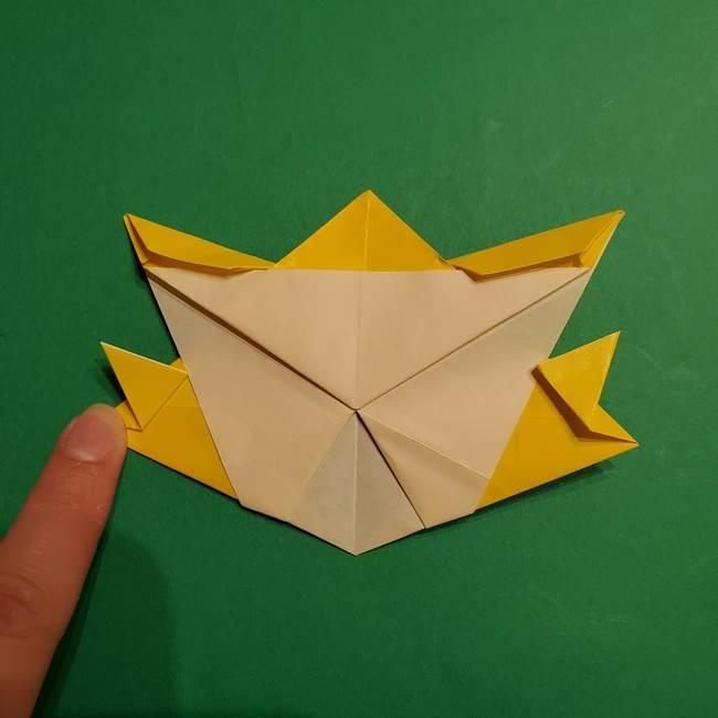 ゼラオラの折り紙*作り方折り方(32)