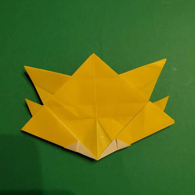 ゼラオラの折り紙*作り方折り方(33)