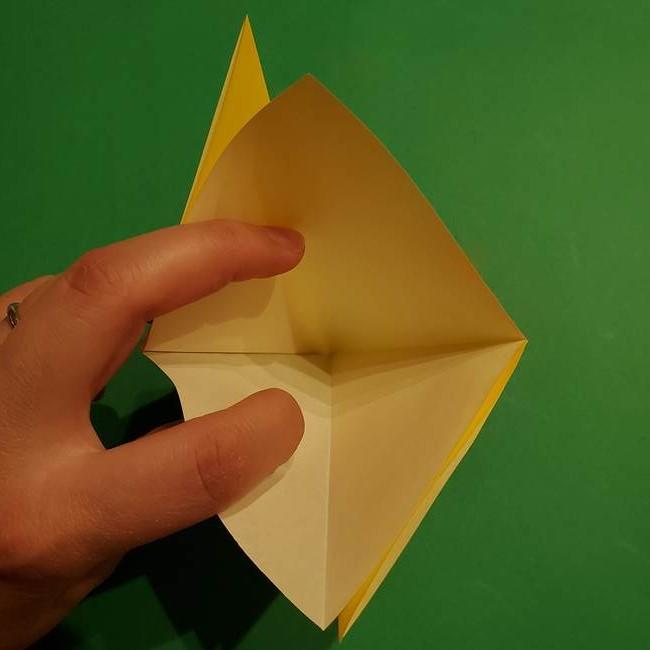 ゼラオラの折り紙*作り方折り方(8)