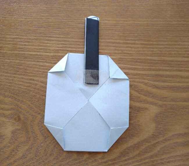 トーマスのメダルの折り紙*作り方折り方 (13)
