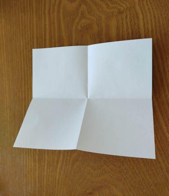 トーマスのメダルの折り紙*作り方折り方 (4)