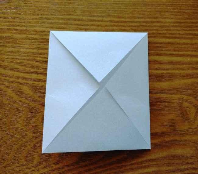 トーマスのメダルの折り紙*作り方折り方 (5)