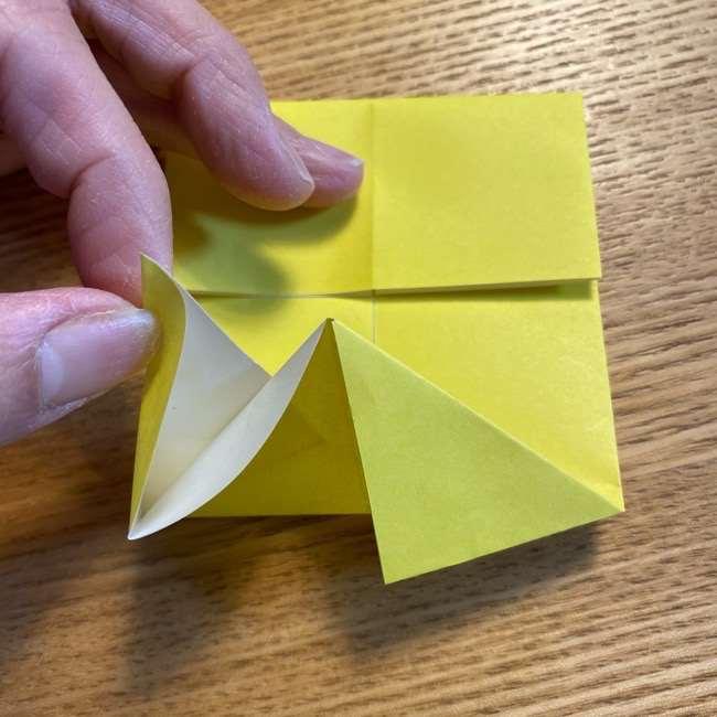ピカチュウの指人形の折り紙*折り方作り方 (10)