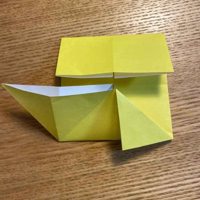 ピカチュウの指人形の折り紙*折り方作り方 (11)