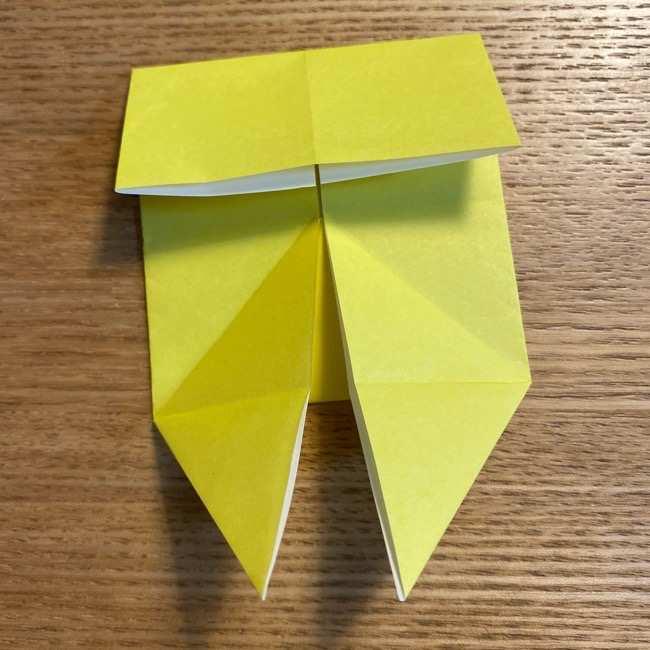 ピカチュウの指人形の折り紙*折り方作り方 (13)