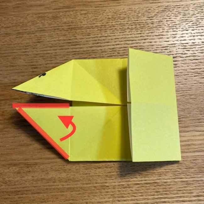 ピカチュウの指人形の折り紙*折り方作り方 (17)
