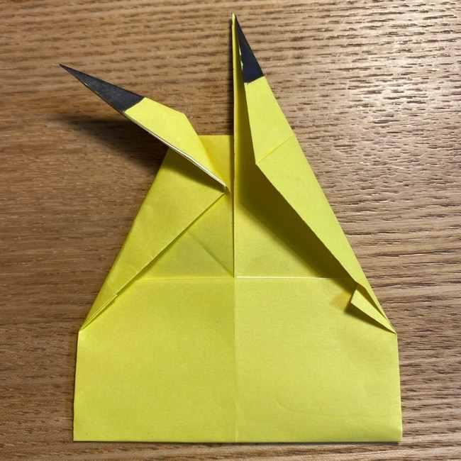 ピカチュウの指人形の折り紙*折り方作り方 (20)