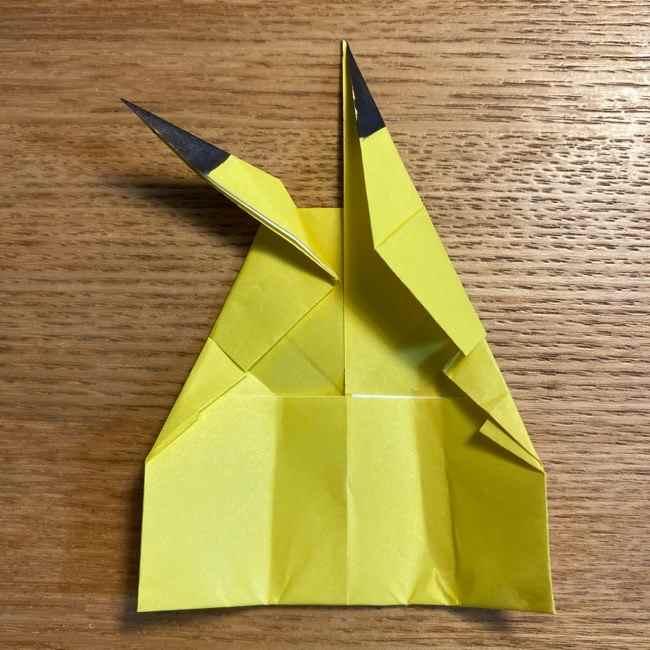 ピカチュウの指人形の折り紙*折り方作り方 (23)