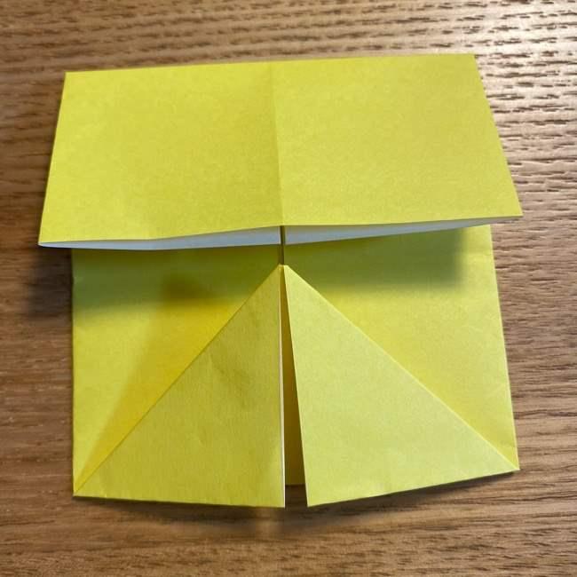 ピカチュウの指人形の折り紙*折り方作り方 (8)