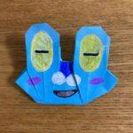 ポケモンの折り紙ケロマツの簡単な折り方作り方☆カエルみたいなポケットモンスター
