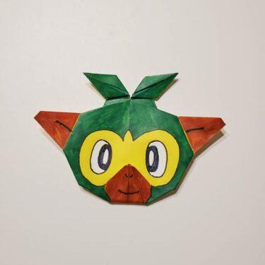 ポケモンの折り紙サルノリは簡単?作り方折り方を紹介☆