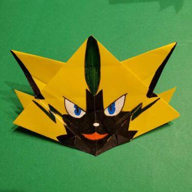ゼラオラの折り紙*作り方折り方(34)