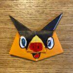 ポケモンの折り紙ポカブの折り方作り方☆簡単かわいいキャラクター
