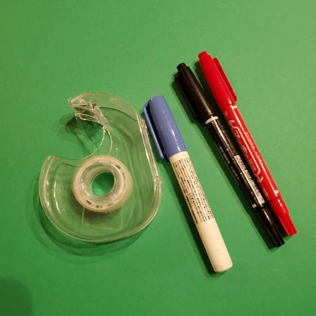 ポケモンの折り紙ミミッキュ*材料と道具(2)