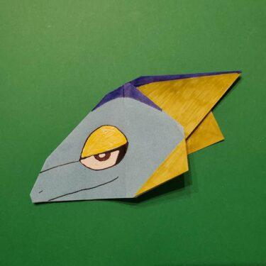 ポケモンの折り紙 インテレオンの折り方作り方は簡単⁈折り図つきで紹介!