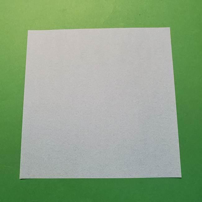 ポケモンの折り紙 インテレオン*必要な物(1)