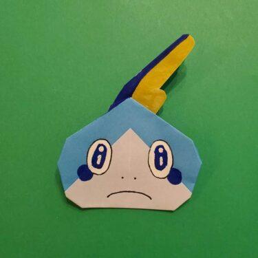 ポケモンの折り紙 メッソンの折り方☆ポケットモンスターの簡単かわいい作り方