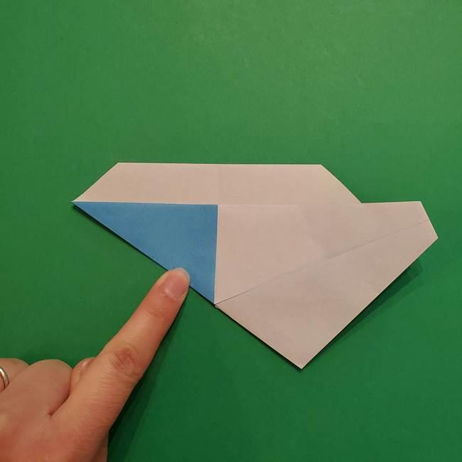 ポケモンの折り紙 メッソンの折り方・作り方(10)