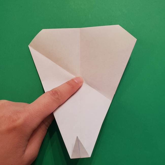 ポケモンの折り紙 メッソンの折り方・作り方(11)