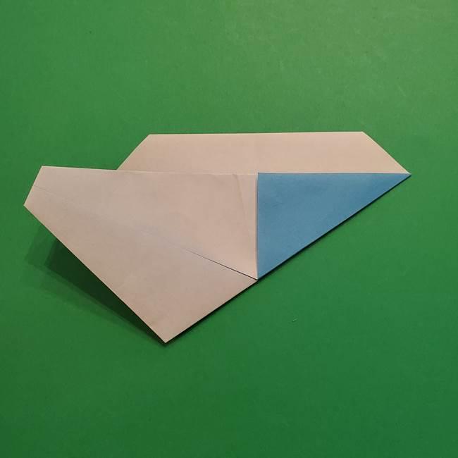 ポケモンの折り紙 メッソンの折り方・作り方(12)