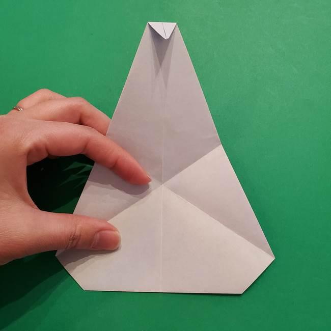 ポケモンの折り紙 メッソンの折り方・作り方(13)