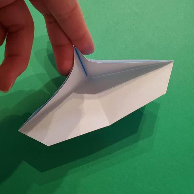 ポケモンの折り紙 メッソンの折り方・作り方(14)