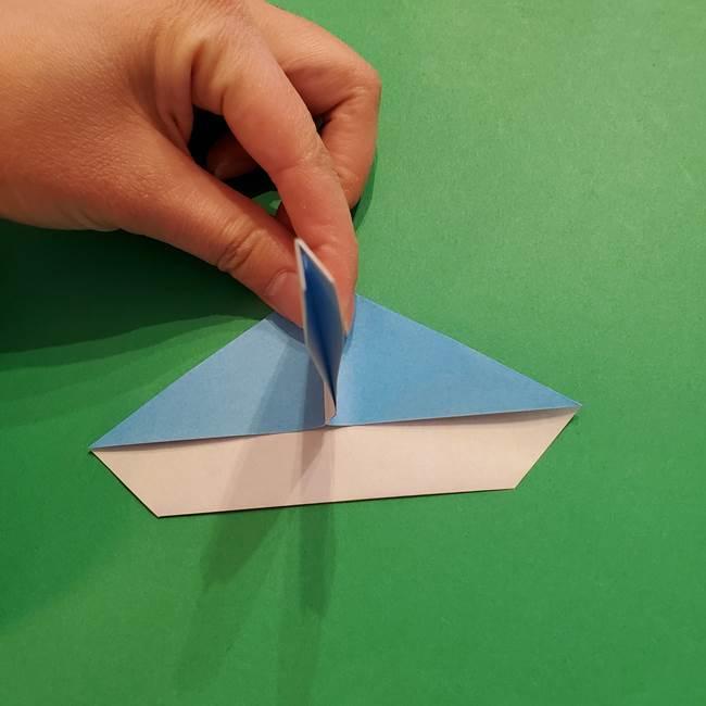 ポケモンの折り紙 メッソンの折り方・作り方(15)