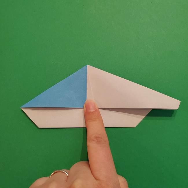 ポケモンの折り紙 メッソンの折り方・作り方(16)