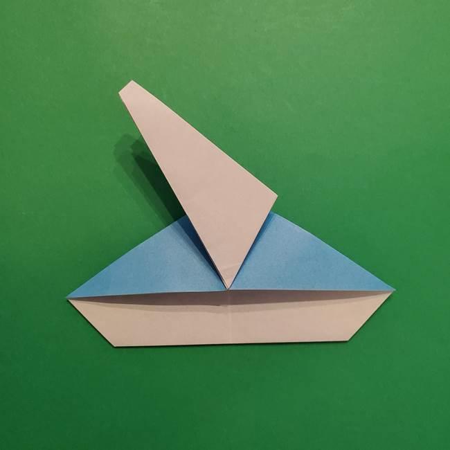 ポケモンの折り紙 メッソンの折り方・作り方(17)