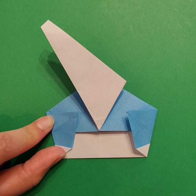 ポケモンの折り紙 メッソンの折り方・作り方(18)