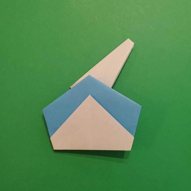 ポケモンの折り紙 メッソンの折り方・作り方(19)