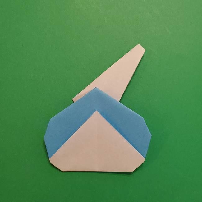 ポケモンの折り紙 メッソンの折り方・作り方(20)