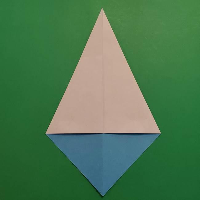 ポケモンの折り紙 メッソンの折り方・作り方(4)