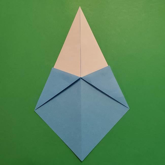 ポケモンの折り紙 メッソンの折り方・作り方(5)