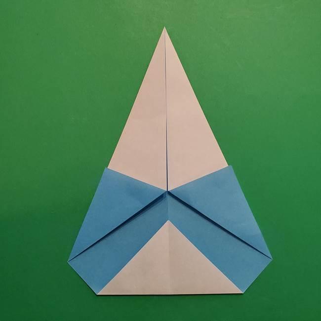 ポケモンの折り紙 メッソンの折り方・作り方(6)