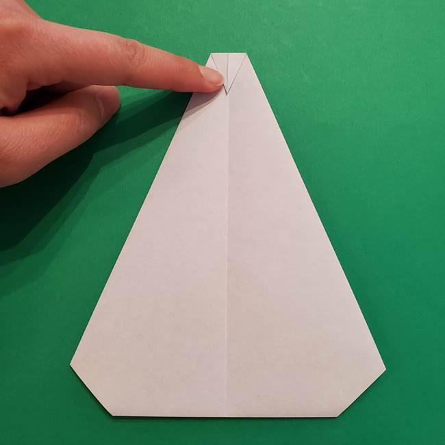 ポケモンの折り紙 メッソンの折り方・作り方(8)