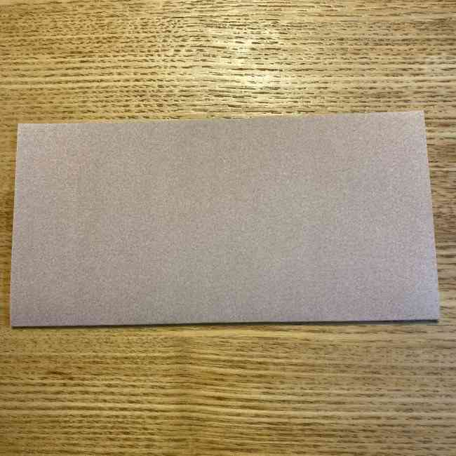 ポケモンの折り紙 モクローの折り方作り方 (1)