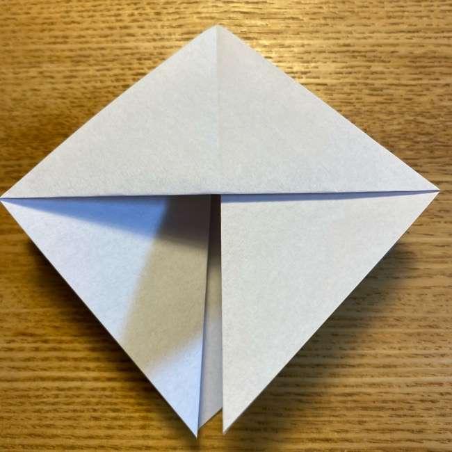ポケモンの折り紙 モクローの折り方作り方 (10)