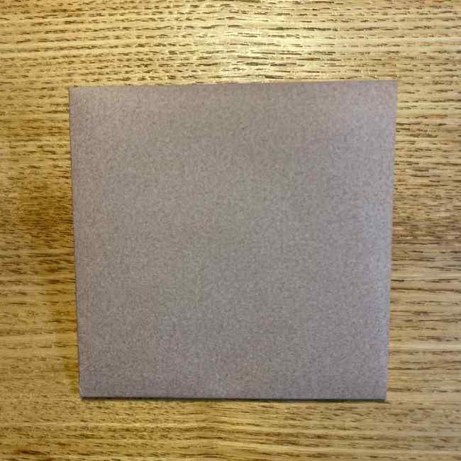 ポケモンの折り紙 モクローの折り方作り方 (2)