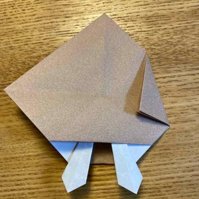 ポケモンの折り紙 モクローの折り方作り方 (20)