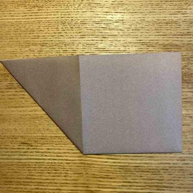 ポケモンの折り紙 モクローの折り方作り方 (5)